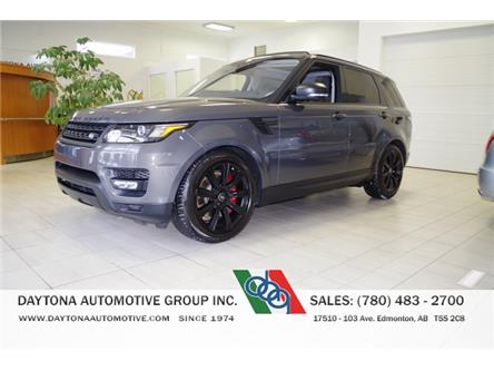 2017 Land Rover Range Rover Sport V8 Supercharged (Stk: 5231) in Edmonton - Image 1 of 17