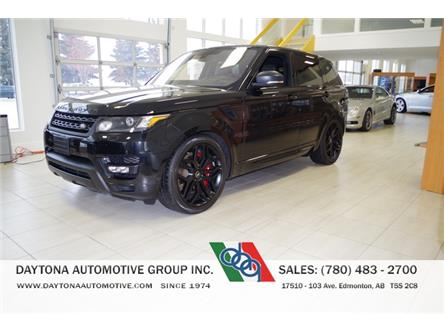 2016 Land Rover Range Rover Sport V8 Supercharged (Stk: 6531) in Edmonton - Image 1 of 8