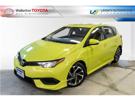 2018 Toyota Corolla iM Base (Stk: P8109) in Kincardine - Image 1 of 15