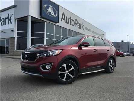 2016 Kia Sorento 3.3L EX+ (Stk: 16-14590JB) in Barrie - Image 1 of 28