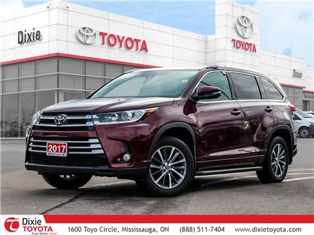 2017 Toyota Highlander XLE (Stk: D190542A) in Mississauga - Image 1 of 26