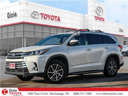 2017 Toyota Highlander XLE (Stk: D191038A) in Mississauga - Image 1 of 24