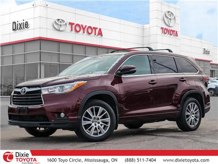 2015 Toyota Highlander XLE (Stk: 47613A) in Mississauga - Image 1 of 27