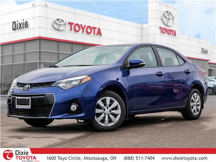 2016 Toyota Corolla  (Stk: D200302A) in Mississauga - Image 1 of 30