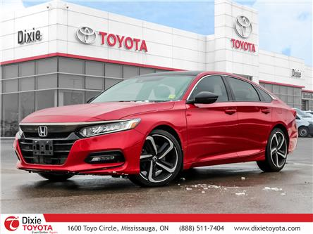 2018 Honda Accord Sport 2.0T (Stk: D200889A) in Mississauga - Image 1 of 29