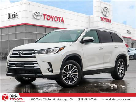 2019 Toyota Highlander XLE (Stk: D200655A) in Mississauga - Image 1 of 29