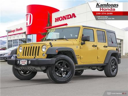 2015 Jeep Wrangler Unlimited Sport (Stk: 14713B) in Kamloops - Image 1 of 25