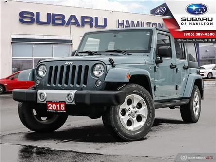 2015 Jeep Wrangler Unlimited Sahara (Stk: S8126A) in Hamilton - Image 1 of 23
