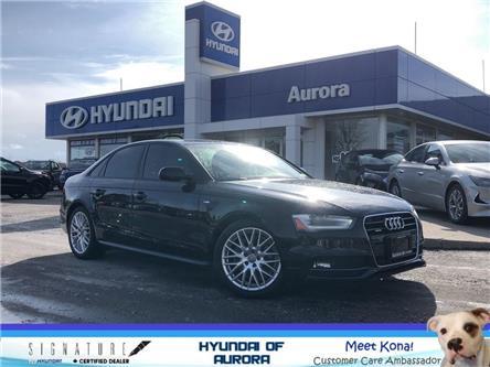 2016 Audi A4 2.0T Komfort plus (Stk: 5188) in Aurora - Image 1 of 23