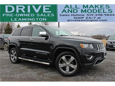 2014 Jeep Grand Cherokee Limited (Stk: D0248A) in Leamington - Image 1 of 30