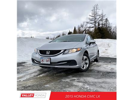 2015 Honda Civic LX (Stk: U5531A) in Woodstock - Image 1 of 7