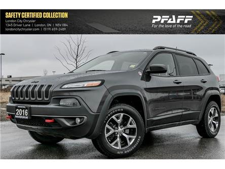 2016 Jeep Cherokee Trailhawk (Stk: LC10065A) in London - Image 1 of 22