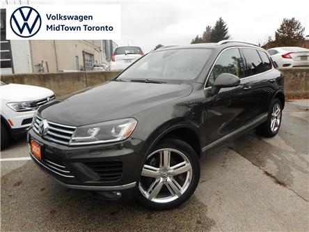 2017 Volkswagen Touareg 3.6L Execline (Stk: P7376) in Toronto - Image 1 of 8
