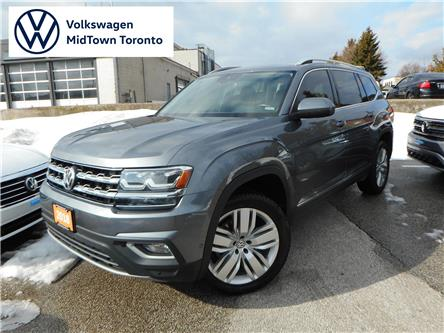 2018 Volkswagen Atlas 3.6 FSI Execline (Stk: W1549A) in Toronto - Image 1 of 24