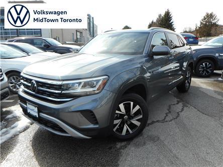2020 Volkswagen Atlas Cross Sport 2.0 TSI Comfortline (Stk: W1551) in Toronto - Image 1 of 23
