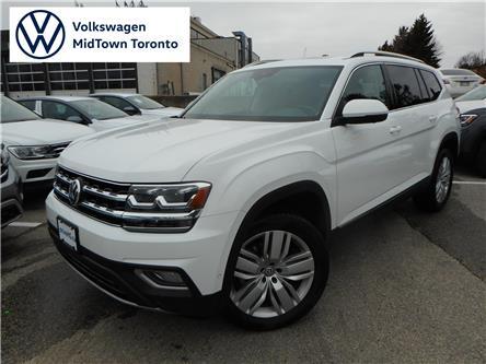 2019 Volkswagen Atlas 3.6 FSI Execline (Stk: W1283) in Toronto - Image 1 of 19