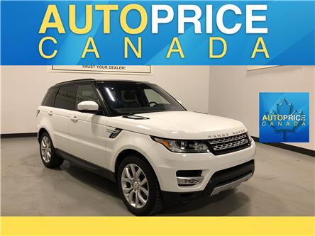 2016 Land Rover Range Rover Sport DIESEL Td6 HSE (Stk: H0875) in Mississauga - Image 1 of 28