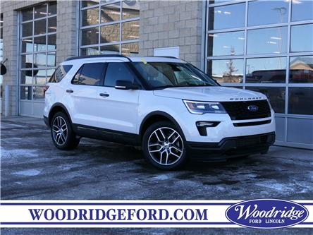 2018 Ford Explorer Sport (Stk: L-93A) in Calgary - Image 1 of 24