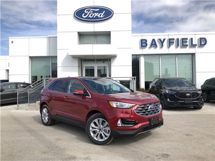 2020 Ford Edge Titanium (Stk: ED20389) in Barrie - Image 1 of 17