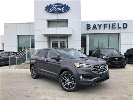 2020 Ford Edge Titanium (Stk: ED20391) in Barrie - Image 1 of 18