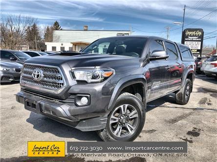 2017 Toyota Tacoma TRD Sport (Stk: 057504) in Ottawa - Image 1 of 26