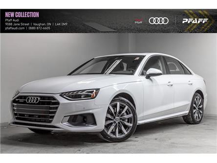 2020 Audi A4 2.0T Komfort (Stk: T18228) in Vaughan - Image 1 of 22