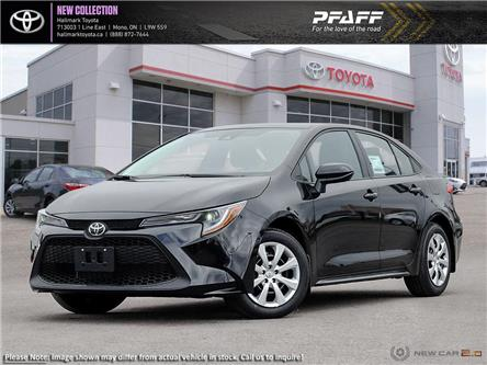 2020 Toyota Corolla 4-door Sedan LE CVT (Stk: H20402) in Orangeville - Image 1 of 24