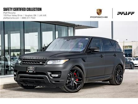 2017 Land Rover Range Rover Sport V8 Supercharged Dynamic (Stk: P15361A) in Vaughan - Image 1 of 22