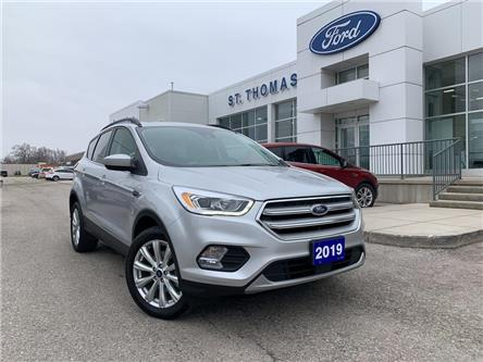 2019 Ford Escape SEL (Stk: P6901A) in St. Thomas - Image 1 of 28