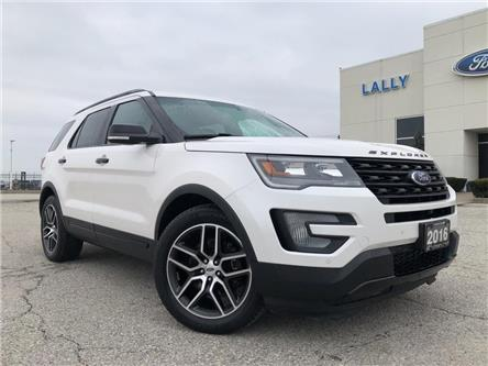 2016 Ford Explorer Sport (Stk: S6536A) in Leamington - Image 1 of 28