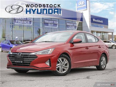 2019 Hyundai Elantra Preferred (Stk: P1491) in Woodstock - Image 1 of 27