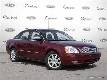 2005 Ford Five Hundred Limited (Stk: A3172A) in Oakville - Image 1 of 27