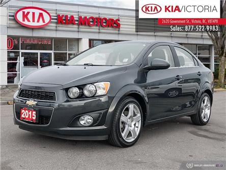 2015 Chevrolet Sonic LT Auto (Stk: A1489A) in Victoria - Image 1 of 25