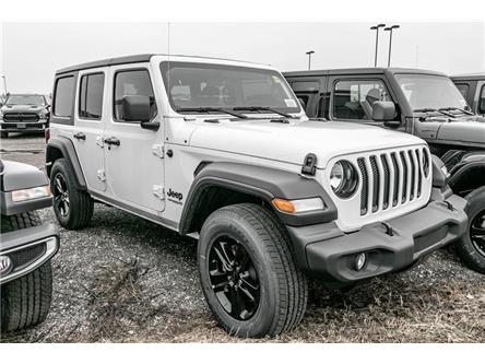 2020 Jeep Wrangler Unlimited Sport (Stk: LC2255) in London - Image 1 of 5