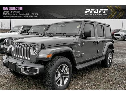 2019 Jeep Wrangler Unlimited Sahara (Stk: LC9410) in London - Image 1 of 6