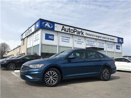 2019 Volkswagen Jetta 1.4 TSI Highline (Stk: 19-60620) in Brampton - Image 1 of 26