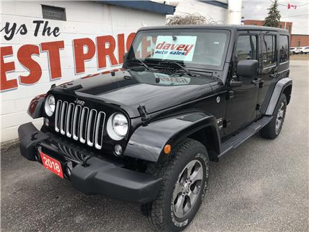2018 Jeep Wrangler JK Unlimited Sahara (Stk: 20-148) in Oshawa - Image 1 of 13