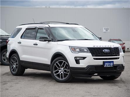2018 Ford Explorer Sport (Stk: 602852) in St. Catharines - Image 1 of 24