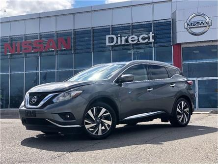 2016 Nissan Murano PLATINUM | CERTIFIED PRE-OWNED (Stk: P0668) in Mississauga - Image 1 of 26