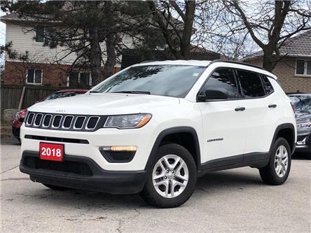 2018 Jeep Compass Sport|4X4|Backup Camera|Heated Seats|Bluetooth (Stk: 5606) in Stoney Creek - Image 1 of 19