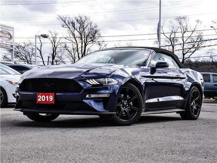 2019 Ford Mustang EcoBoost Prem. Convertible |LEATHER |NAV|BackupCam (Stk: 5628) in Stoney Creek - Image 1 of 19