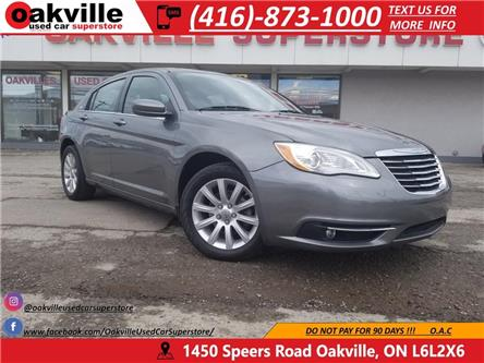 2012 Chrysler 200 TOURING I HTD SEATS I  LOW KMS (Stk: P0028) in Oakville - Image 1 of 21