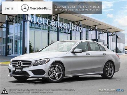 2017 Mercedes-Benz C-Class Base (Stk: 20MB037A) in Innisfil - Image 1 of 27
