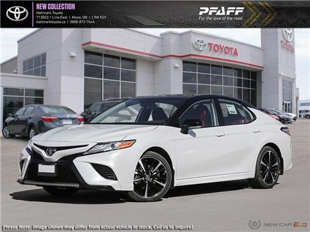 2020 Toyota Camry 4-Door Sedan XSE 8A (Stk: H20410) in Orangeville - Image 1 of 24