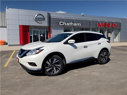2017 Nissan Murano  (Stk: 2106A) in Chatham - Image 1 of 19