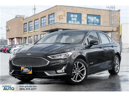 2019 Ford Fusion Hybrid Titanium (Stk: 155484) in Milton - Image 1 of 21