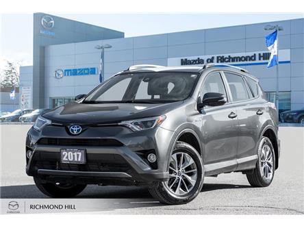 2017 Toyota RAV4 Hybrid Limited (Stk: 20-234A) in Richmond Hill - Image 1 of 18