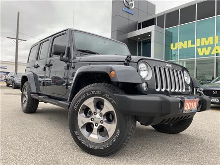 2018 Jeep Wrangler JK Unlimited Sahara (Stk: UM2359) in Chatham - Image 1 of 20