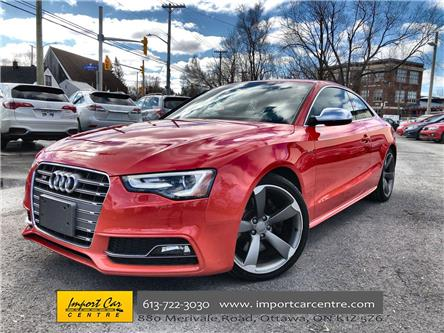 2015 Audi S5 3.0T Technik (Stk: 057860) in Ottawa - Image 1 of 26