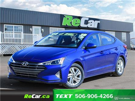 2019 Hyundai Elantra Preferred (Stk: 200515A) in Fredericton - Image 1 of 23